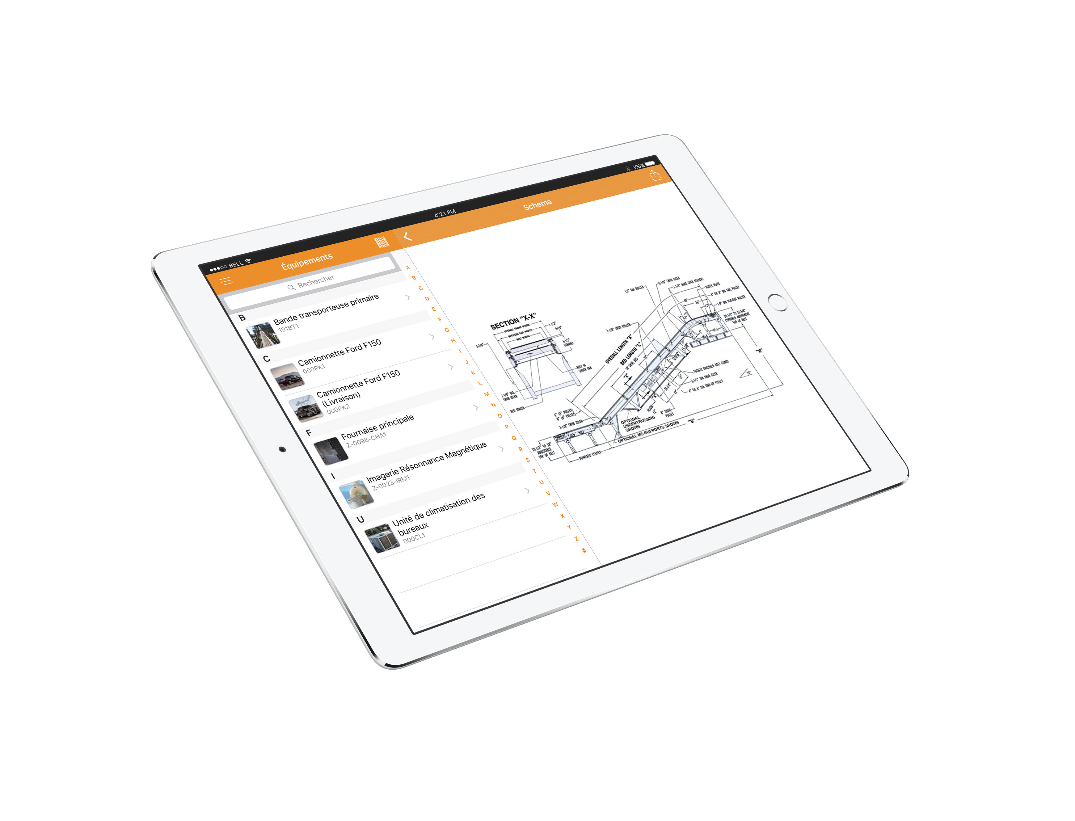 CMMS mobilile software iOS iPhone Android